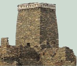 بعض الحصون التراثيه في بني مالك